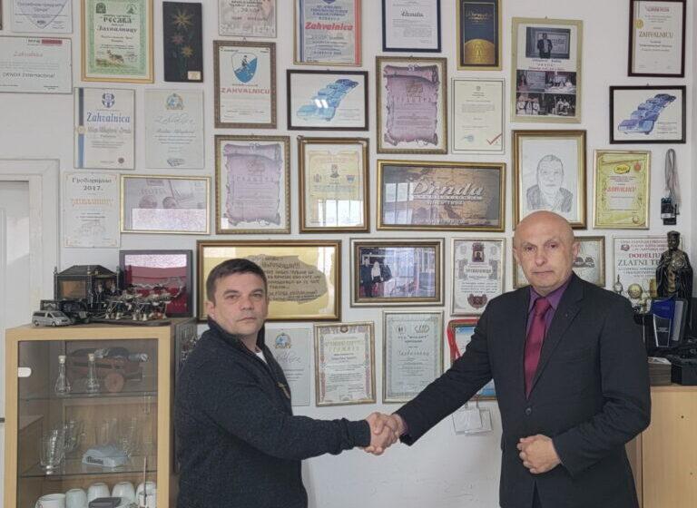 Zahvalnost diaspore i otadžbine za 3 decenije profesionalne usluge, DRNDA Požarevac, Srbija