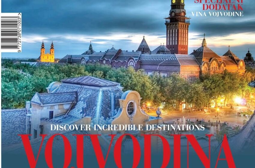 Promocija turističkog magazina Balkan travel Vojvodina, projekat Pokrajinske vlade i TOV